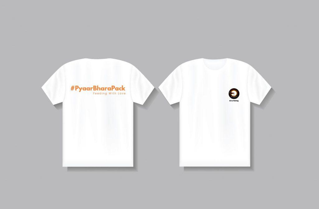 Art of giving T shirt Pyaar bhara Pack