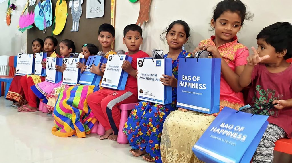 Art of Giving 2019 Bag of Happiness Celebration